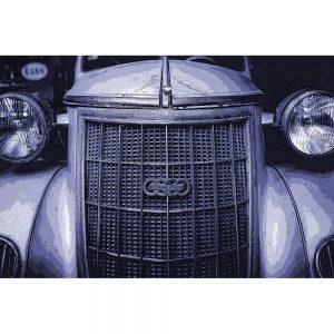 TM1412 automotive classic cars auto union purple