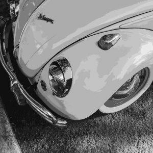 TM1416 automotive classic cars beetle pink
