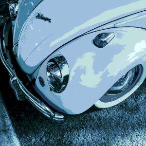 TM1417 automotive classic cars beetle blues
