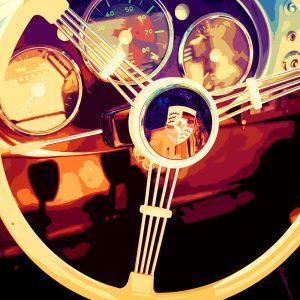 TM1422 automotive classic cars porsche wheel