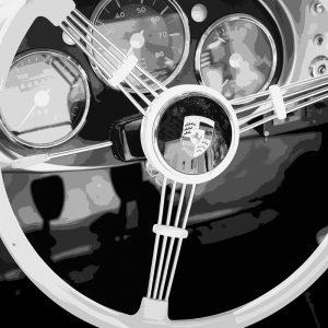 TM1424 automotive classic cars porsche wheel
