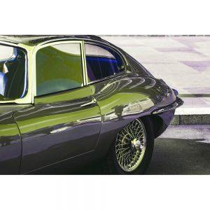 TM1427 automotive classic cars etype green