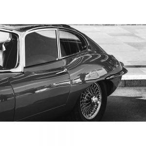 TM1428 automotive classic cars etype mono