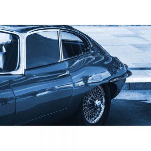 TM1429 automotive classic cars etype blue