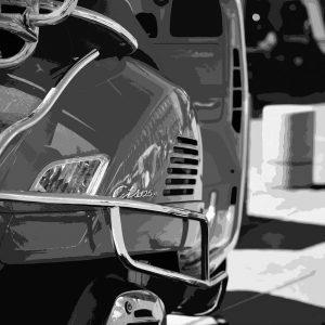 TM1455 automotive scooters mono