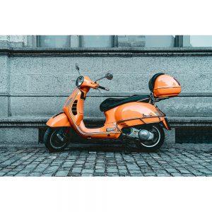 TM1463 automotive scooters vespa orange