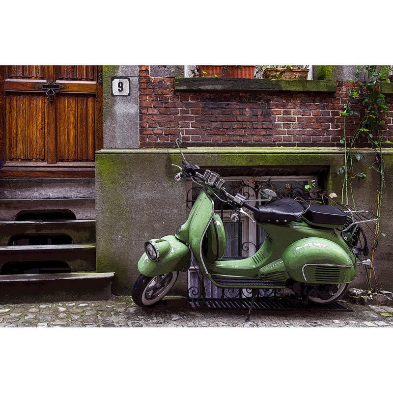 TM1471 automotive scooters street green