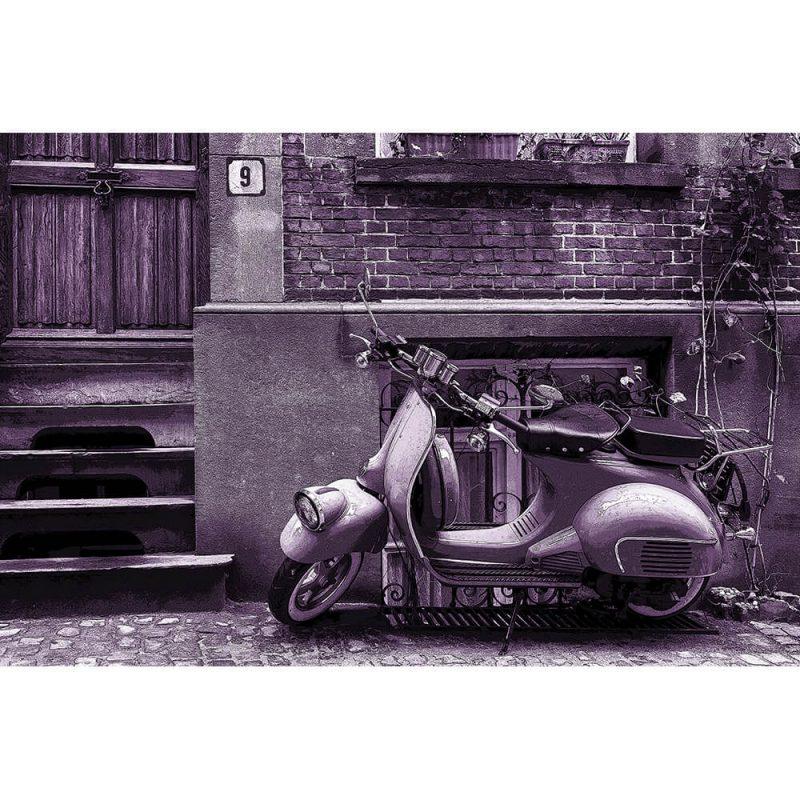 TM1474 automotive scooters street lilac