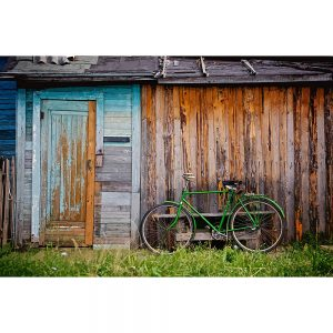 TM1555 bicycles classic shack green