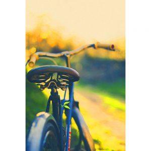 TM1566 bicycles classic saddle yellow