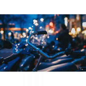 TM1576 bicycles bright lights blue