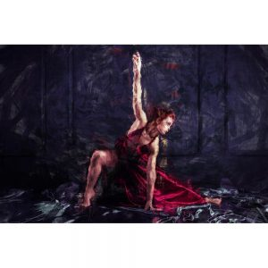 TM1704 ballet dancer painterly