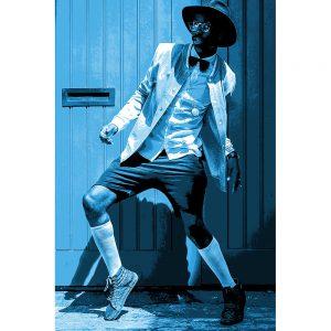 TM1709 street dance blue