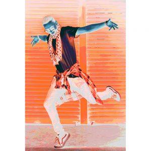 TM1714 street dance orange invert