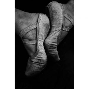 TM1715 ballet shoes mono