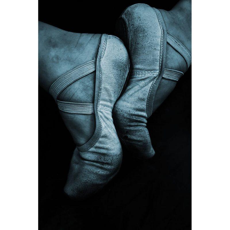 TM1716 ballet shoes blue