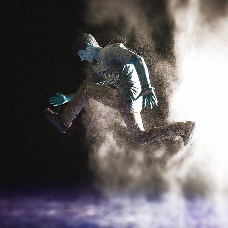 TM1724 modern dancer purple