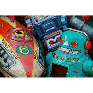 TM1751 retro metal toy collection