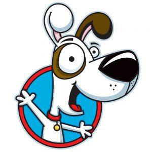 TM1755 cartoon dog big nose