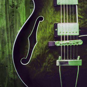 TM1902 lead guitar green