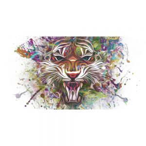 TM2021 tiger graphic grunge art