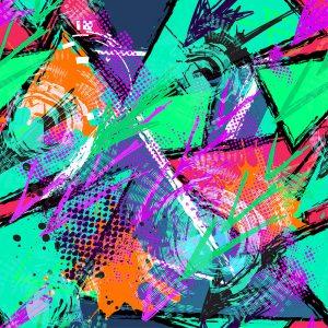 TM2028 grafitti grunge art