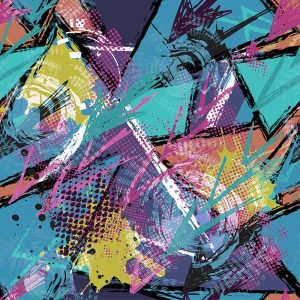 TM2029 grafitti grunge art