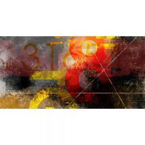 TM2031 numbers type grunge art