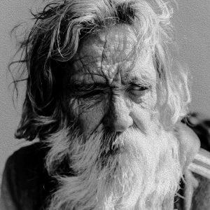 TM2102 old man beard mono