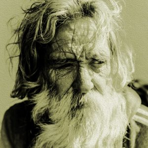 TM2104 old man beard green