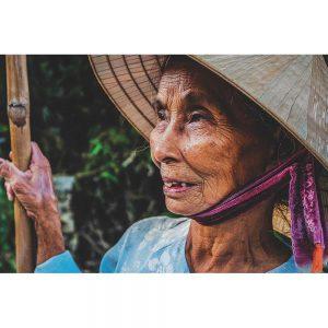 TM2105 old lady hat asian
