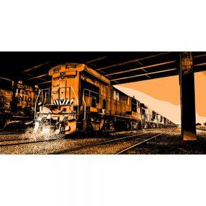 TM2301 loco retro orange