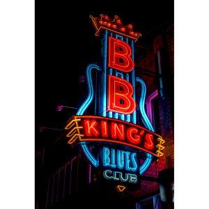 TM2401 bb kings club neon sign