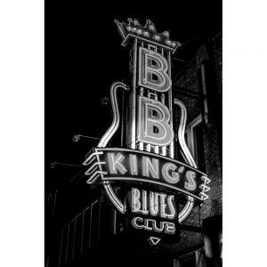 TM2402 bb kings club neon sign mono