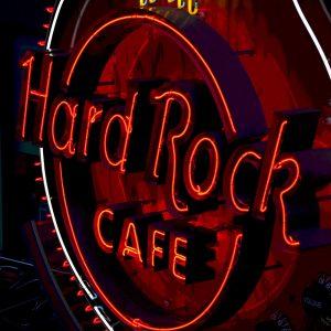 TM2421 hard rock cafe neon sign red