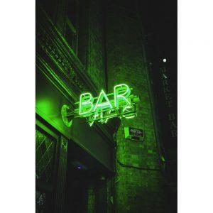 TM2430 bar neon sign green