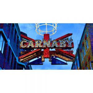 TM2565 carnaby street london red
