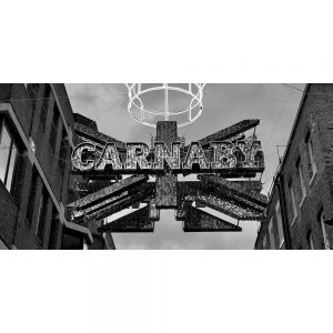 TM2567 carnaby street london mono
