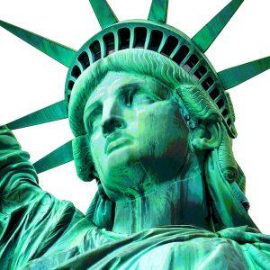 TM2601 statue of20liberty green