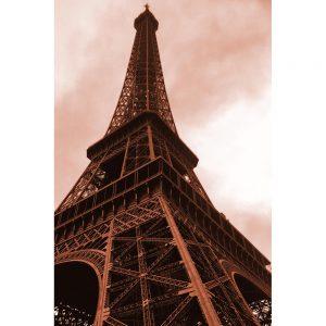 TM2669 eifel tower paris brown