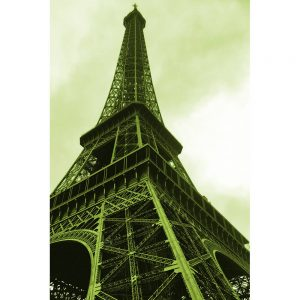 TM2670 eifel tower paris green