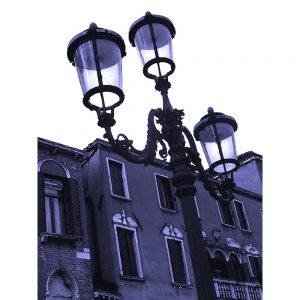 TM2717 venice street lamps purple
