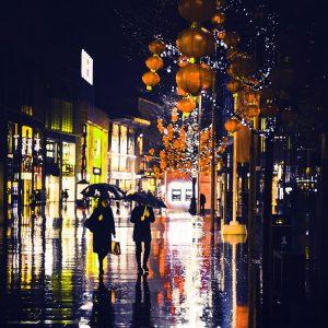 TM2760 liverpool street lanterns orange