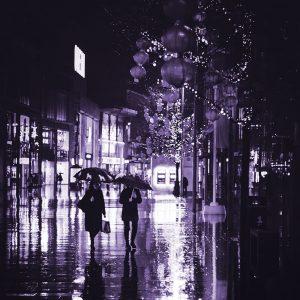 TM2762 liverpool street lanterns purple