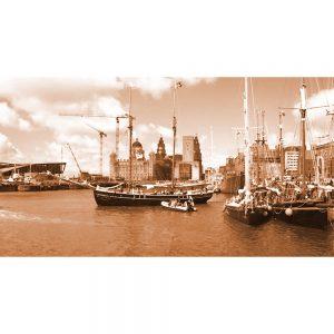 TM2767 liverpool tall ships sepia