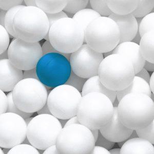 TM2817 ping pong balls blue