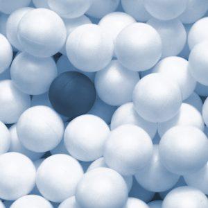 TM2820 ping pong balls light blue