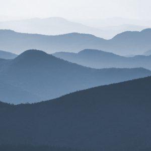 TM2828 hills distance landscape light blue
