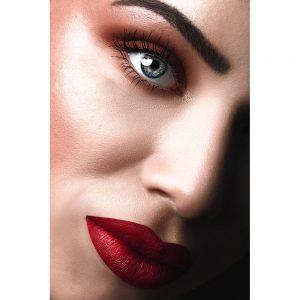 TM2879 model lips woman red