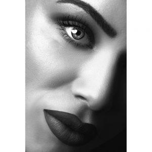 TM2880 model lips woman mono